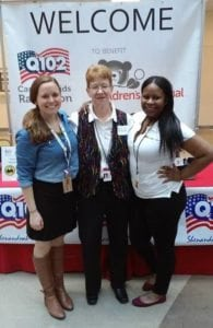Sasha Dutton (Children's National CMN Contact), Christine Woodrum & Brittany Scribner