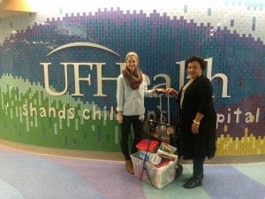 Florida Rx Card Sponsors Toy Drive for UF Health Shands Children's Hospital